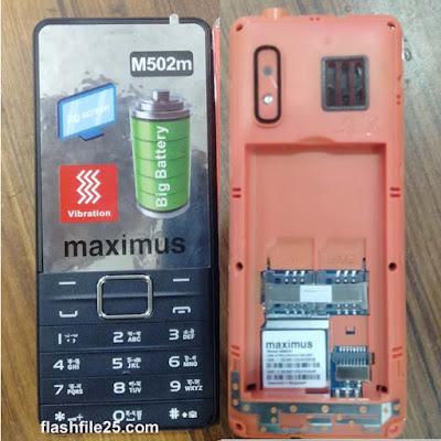 Maximus M502M Flash File 6531E