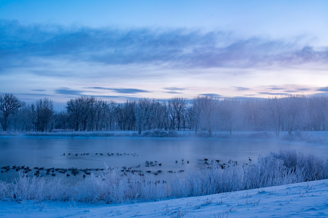 Winter Sunrise, Chatfield State Park