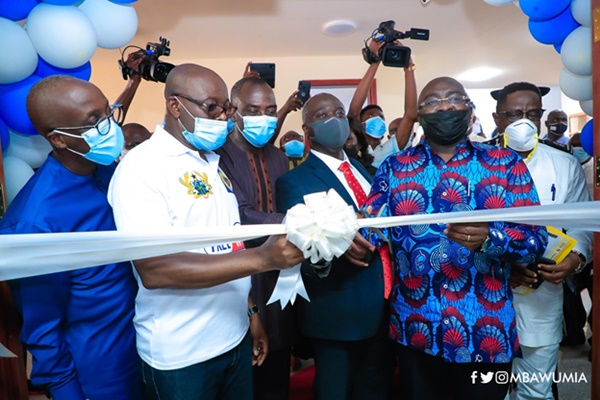 VP Bawumia Commissions Gov't Free Wi-Fi For Tertiary Institutions Project
