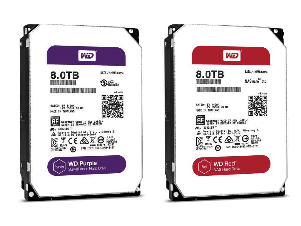 Western Digital Upgraded Its Hard Drives Up To 8tb