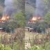 Concórdia – Incêndio de grandes proporções em Barra Bonita, interior de Concórdia