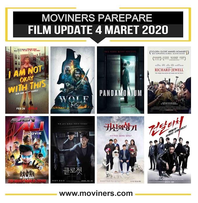 FILM UPDATE 4 MARET 2020