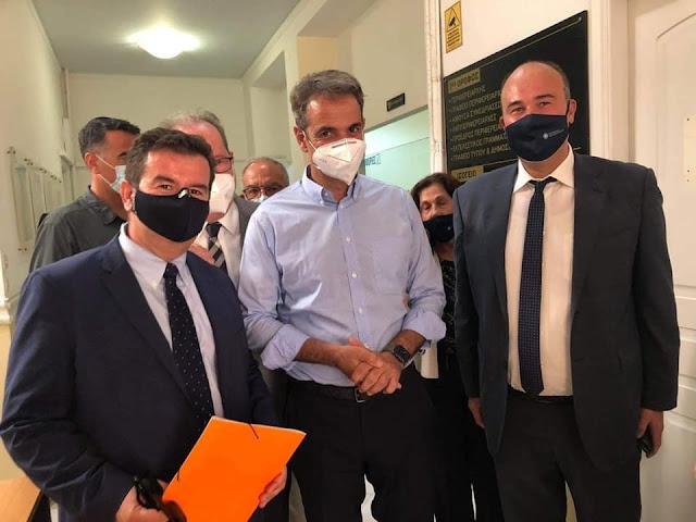 Ποια θέματα της Αργολίδας έθεσε ο Μαλτέζος στη συνάντηση με τον Πρωθυπουργό