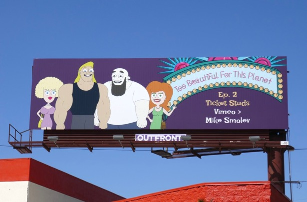 Too Beautiful For This Planet Episode 2 billboard