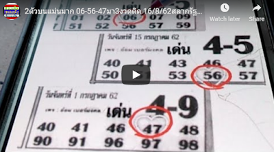 Thai lottery winning tips sure numbers vip tips down 16 August 2019
