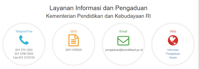 Layanan Informasi dan Pengaduan Kemdikbud