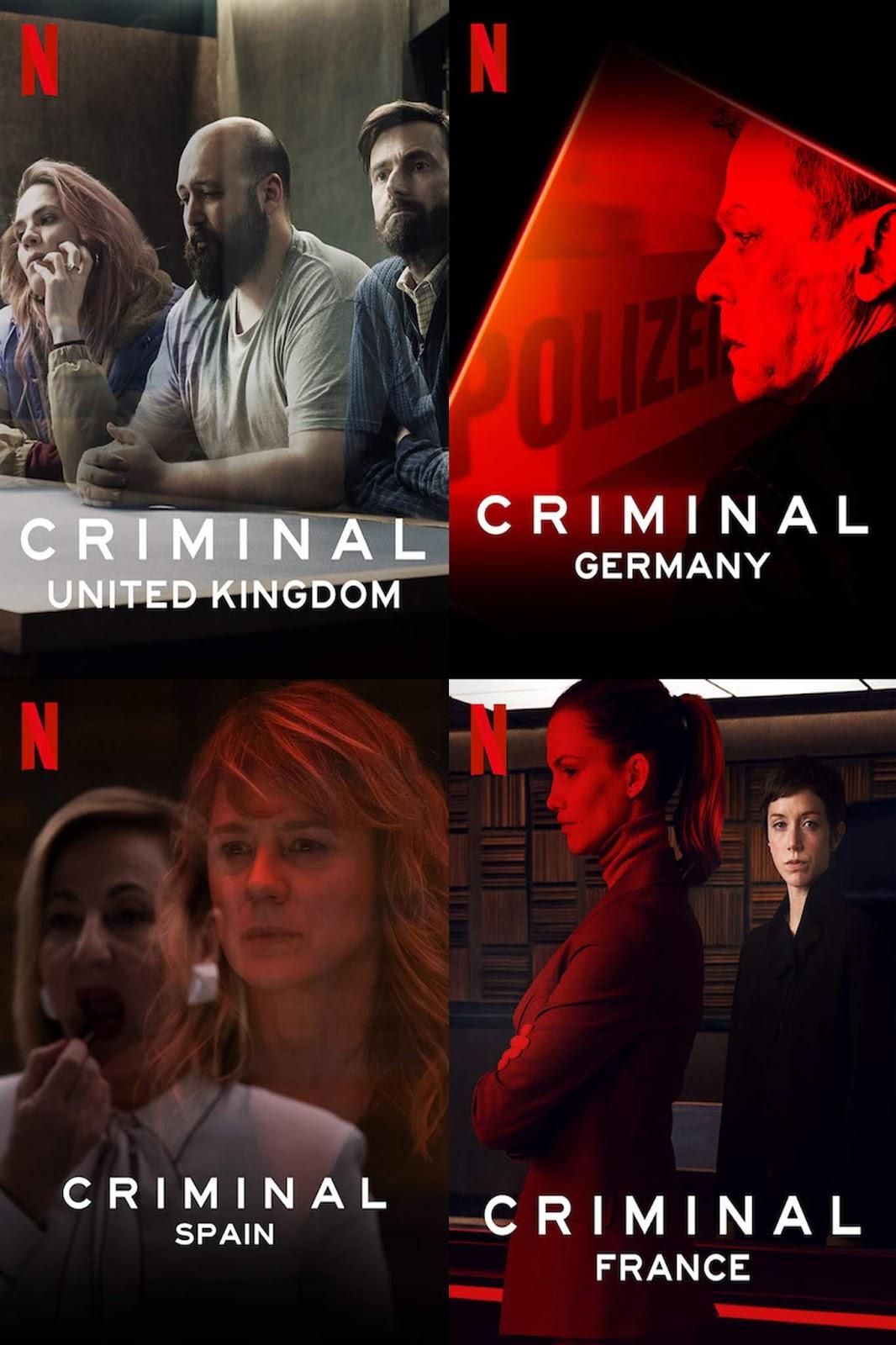 Criminal: Fr, Ger, Spain, UK (2019) Temporada 1 1080p Latino