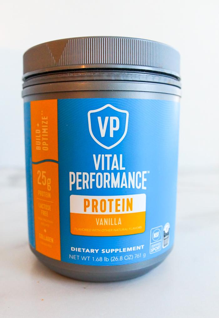 vital performance vanilla protein powder