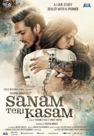 Sanam Teri Kasam 2016 Full Hindi Movie Download BRRip 720p