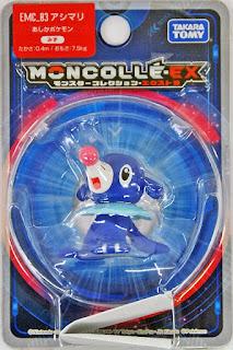 Popplio figure Takara Tomy Monster Collection MONCOLLE EX EMC series