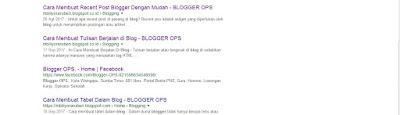 blog mudah dikenali dan ditemukan di google