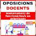 Oposicions docents - Nomenament de funcionàries/s en pràctiques de les oposicions docents convocatòria 2017