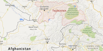 Afghan-Tajik border