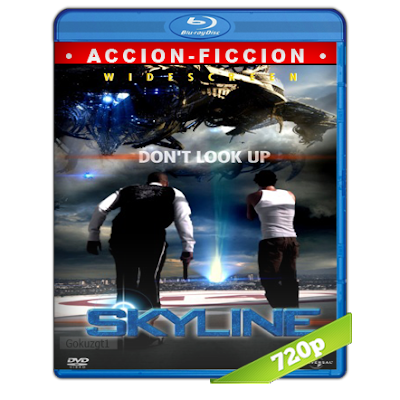 Skyline La Invasion (2010) BRRip 720p Audio Trial Latino-Castellano-Ingles 5.1