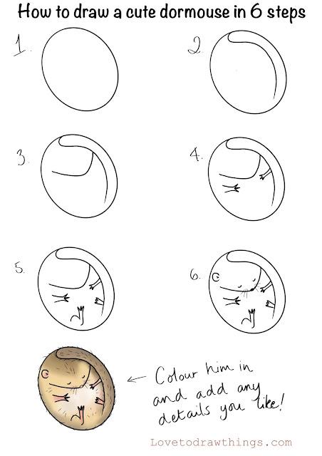 Draw a dormouse