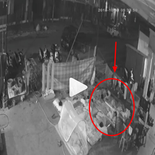 Video Detik-detik Gempa Susulan 5.2 SR Guncang Palu Saat Pengungsi Masih Tidur