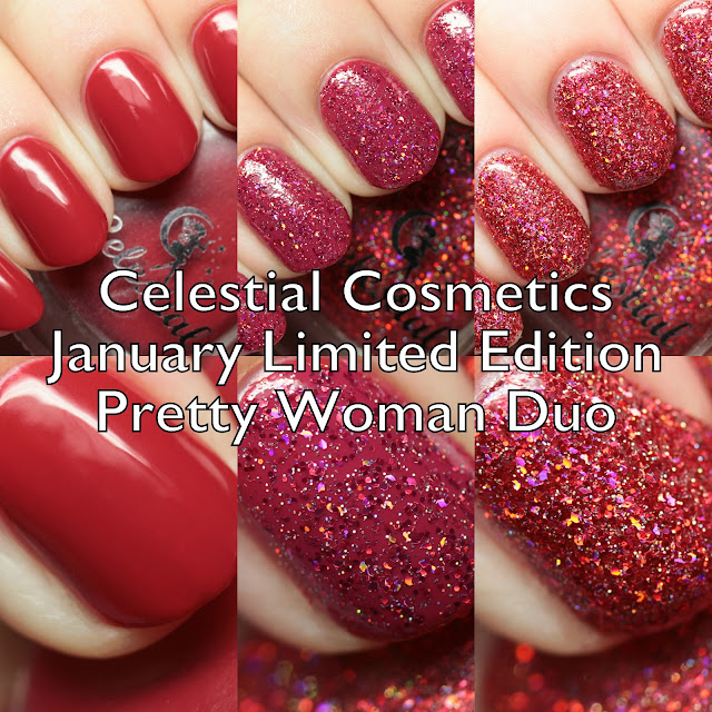 Celestial Cosmetics January Limited Edition Pretty Woman Duo