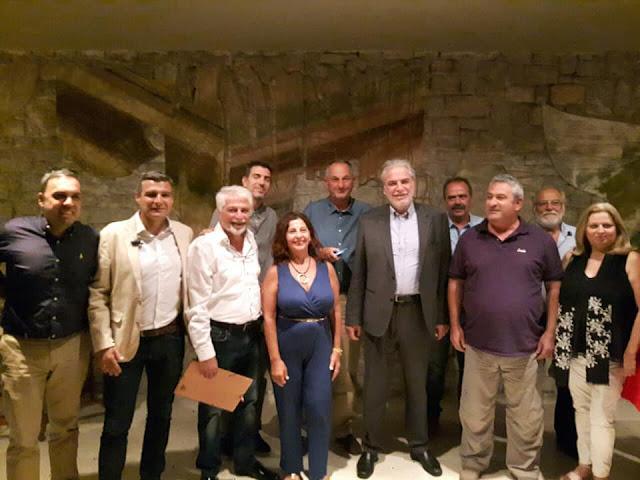 Επίσκεψη στο Ναύπλιο του Επιτρόπου της Ευρωπαϊκής Ένωσης Χρήστου Στυλιανίδη