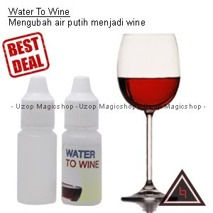 Jual alat sulap water to wine