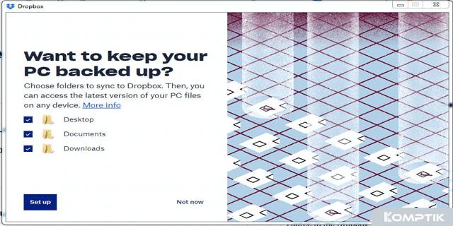 Cara Menggunakan Dropbox di PC Laptop Windows