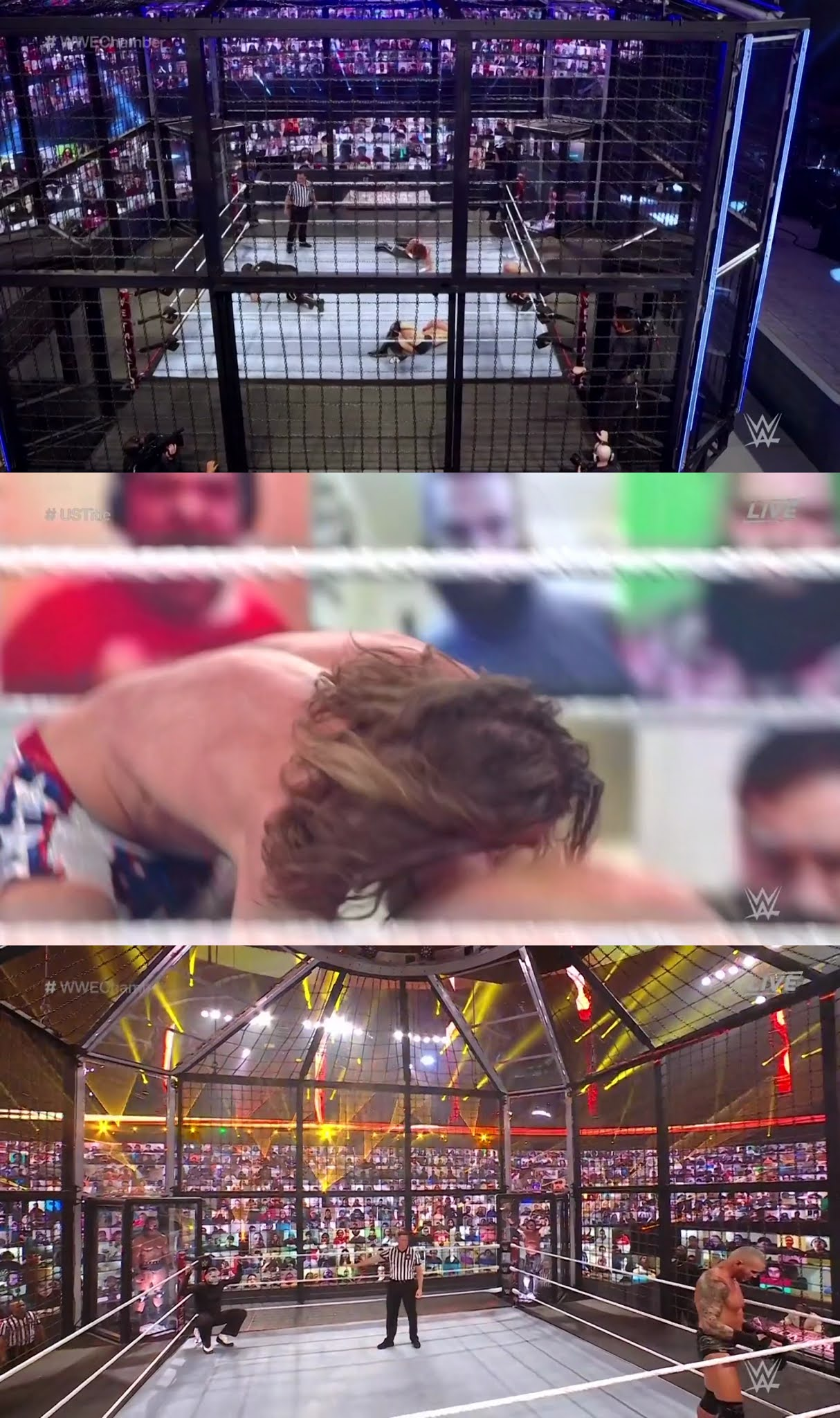 WWE Elimination Chamber (2021) HD 720p Latino