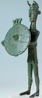 Bronzetto warrior