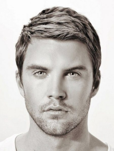 mens haircuts for oblong faces Consistentwith Simplicity