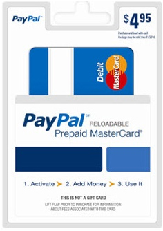 Paypal. Anonymous accounts