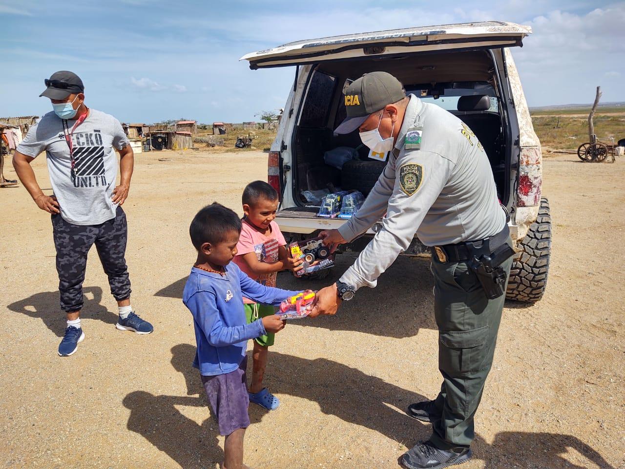 https://www.notasrosas.com/'Rueda por un Corazón': campaña realizada por el Grupo de Protección al Turismo, en El Cabo De La Vela