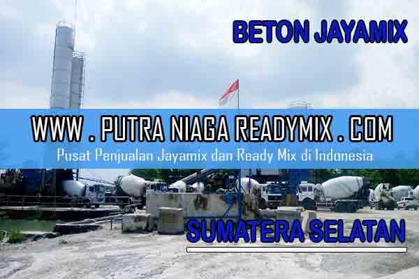 Harga Beton Jayamix Sumatera Selatan