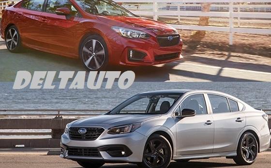 Subaru Impreza Vs Legacy