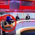 Pantalla cae en vivo sobre presentador de ESPN Colombia