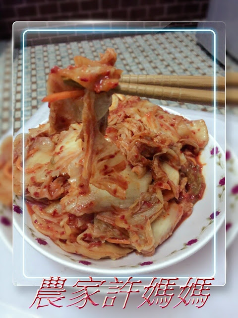 香氣十足許媽媽韓國泡菜