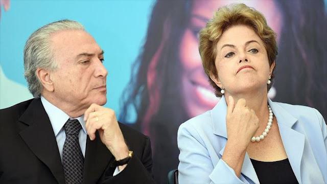 Revelación: Temer compra votos a favor de destitución de Rousseff