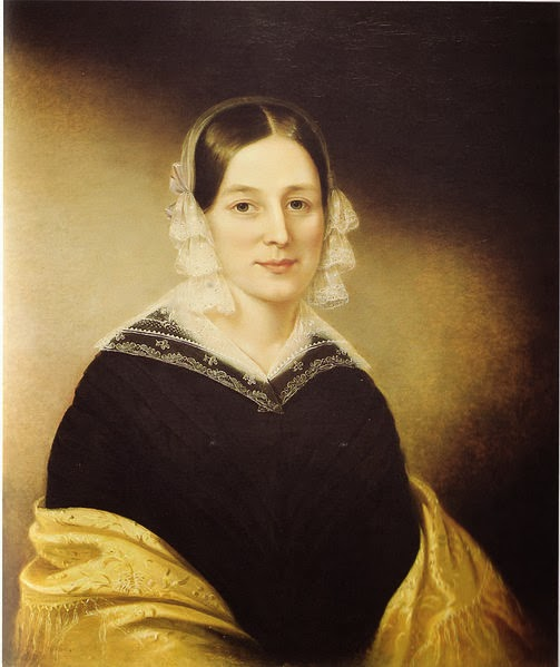 Mrs. William Crane (1840), Sarah Miriam Peale