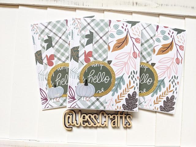 Target Dollar Spot Fall Paper Pad by Jess Crafts
