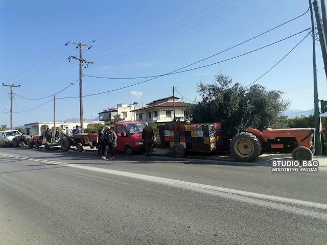 Αργολίδα: Διαμαρτυρία αγροτών στο Άργος για το πρόβλημα με τα χυμοποιεία (βίντεο)