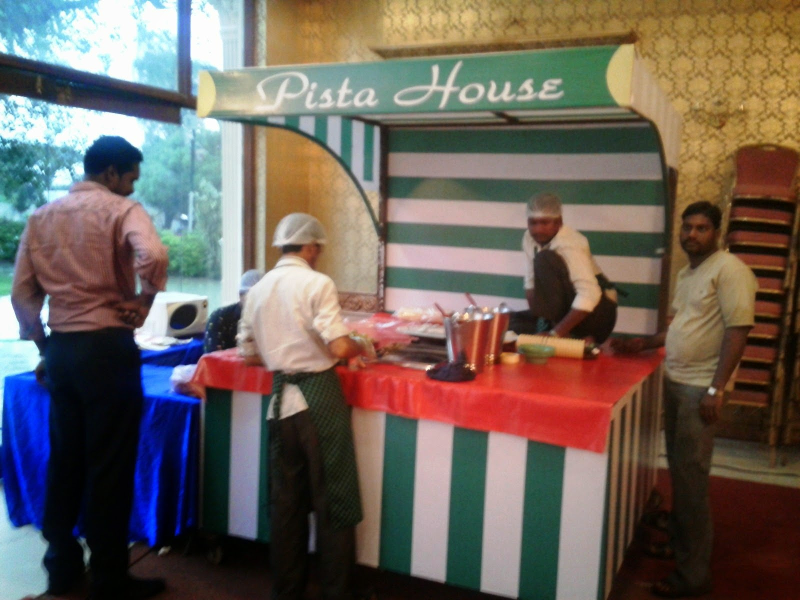 Pista House haleem counter