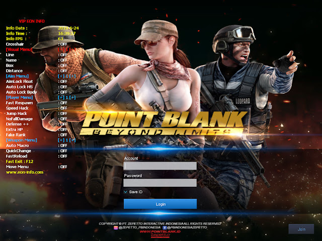 Cheat Point Blank Zepetto 26 Juni 2019