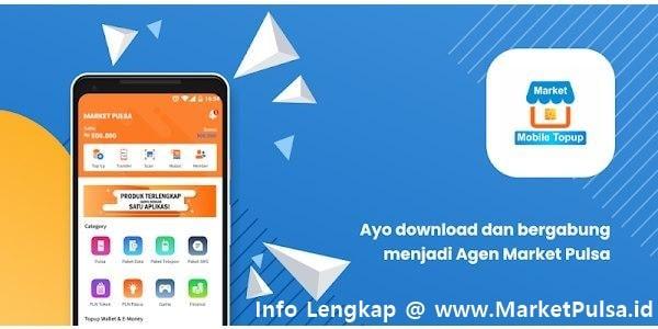 Mari Bisnis Jualan Pulsa Elektrik Murah All Operator Bersama MarketPulsa.id CV Market Cipta Payment