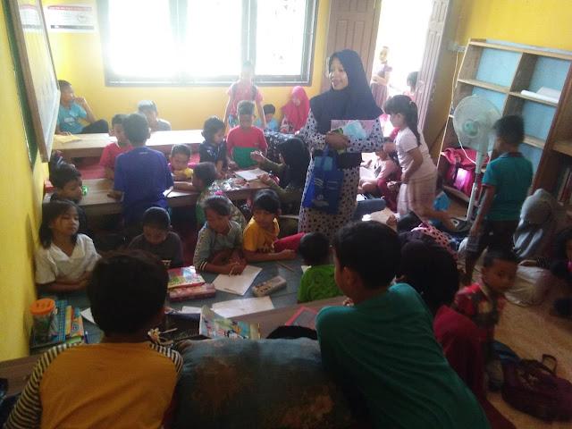 Tetap Produktif Di Masa Pandemi, TBM Insani Adakan Les Gratis Untuk Anak-Anak