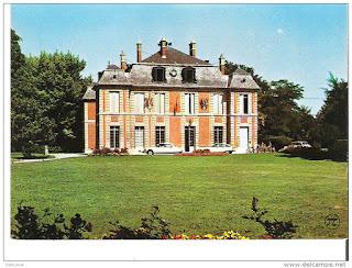 Photo du château dans lequel l'histoire de cet article s'est passée, elle date des années 70