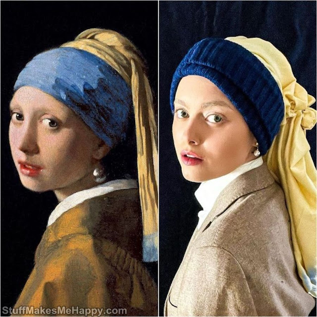 Girl with a Pearl Earring (Johannes Vermeer)
