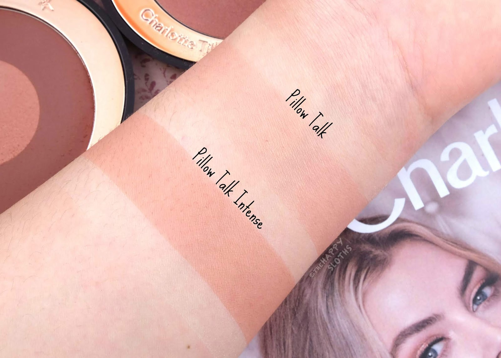 "Charlotte Tilbury | Cheek to Chic in ""Pillow Talk"" & ""Pillow Talk Intense"": Review and Swatches"
