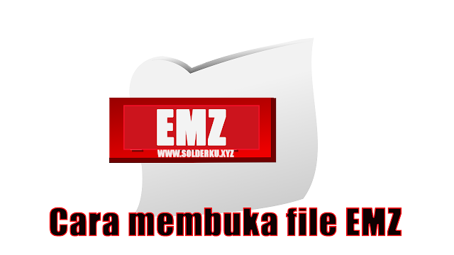 Cara membuka file EMZ di Microsoft Office