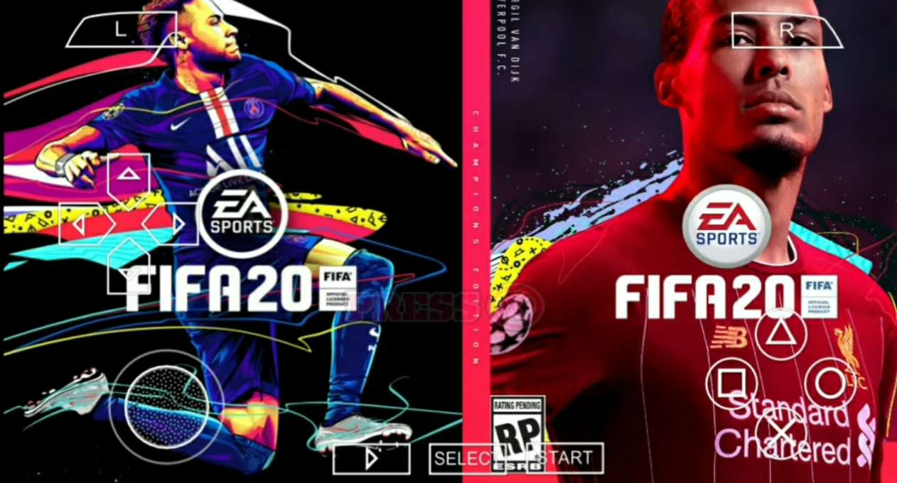 FIFA 20 PPSSPP MOD KAMERA PS4 600MB ANDROID