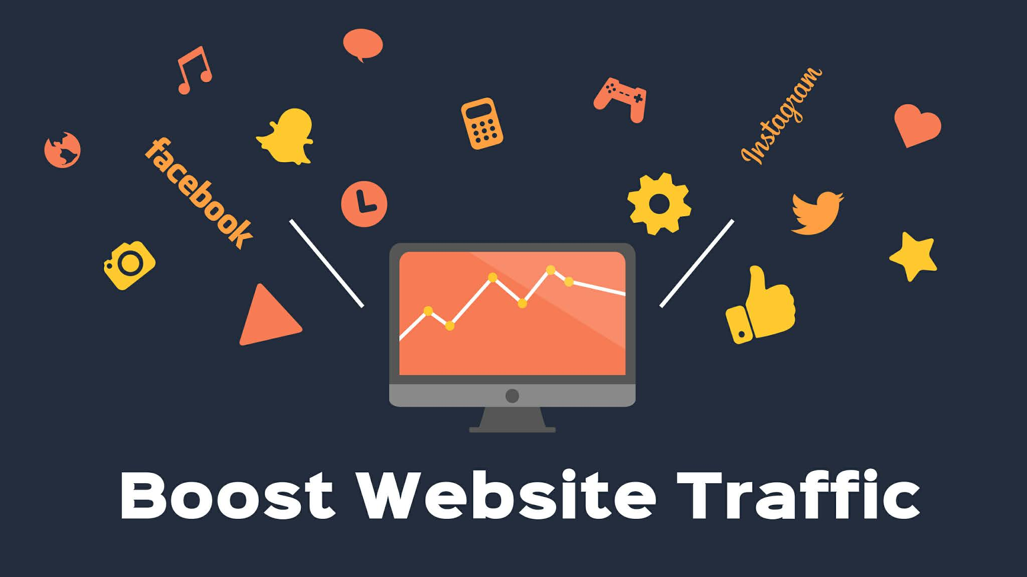 Best methods to Boost your Traffic of your website ; Get Huge Unique traffic