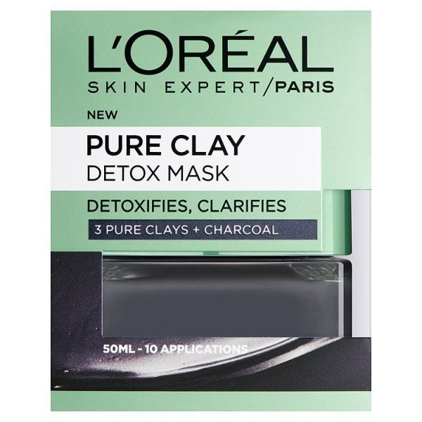 l'oreal Paris Pure Clay Mask Exfoliate and Refine Pores Review UK 2020