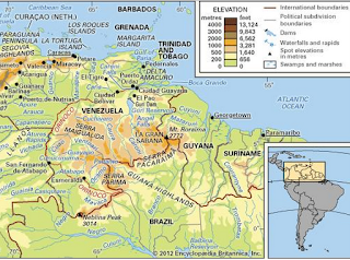 Yanomamo Region Map