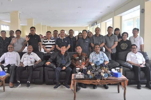 GSVL - MOR Hadiri Ibadah Syukur Gedung Baru Kantor Inspektorat Kota Manado